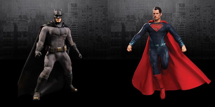 batman-vs-superman-mezco-action-figures