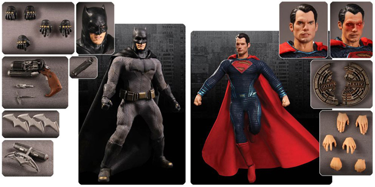 batman-vs-superman-mezco-toyz-one-12-action-figures