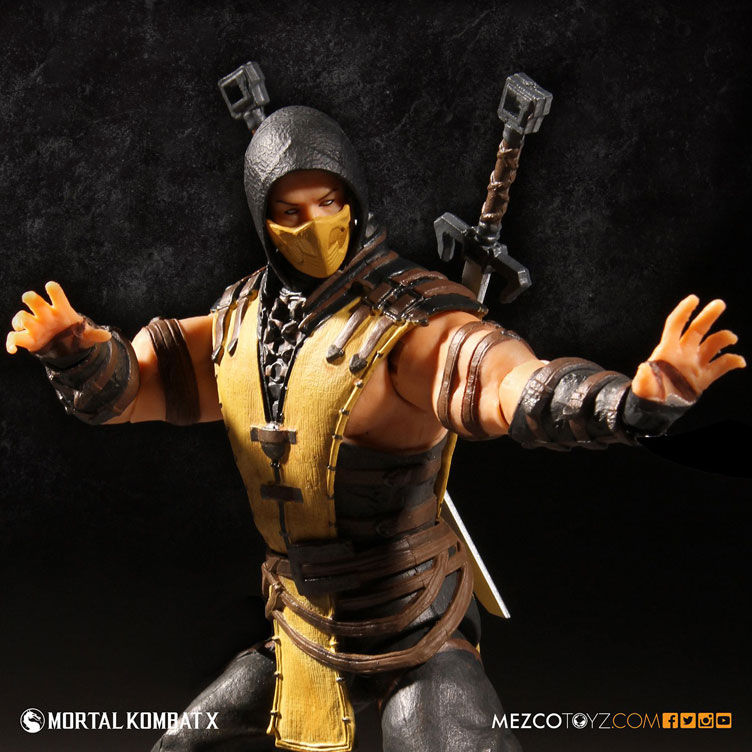 mortal-kombat-x-scorpion-action-figure-mezco-toyz-2