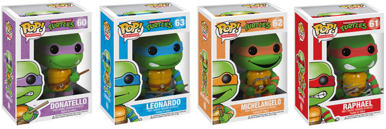 be7f6c709da Teenage Mutant Ninja Turtles TMNT POP Vinyl Figures ...