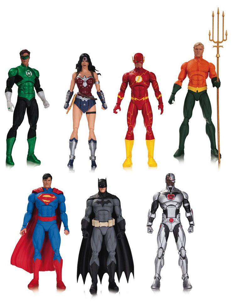 Best Justice League Toys And Action Figures For Kids : Justice league of america action figures by dc