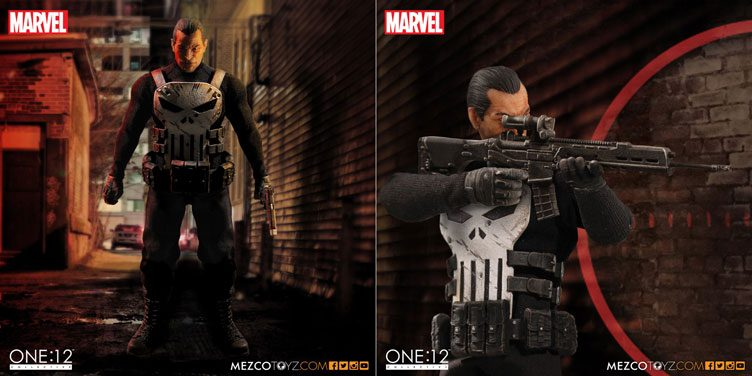 punisher-mezco-toyz-one-twelve-action-figure