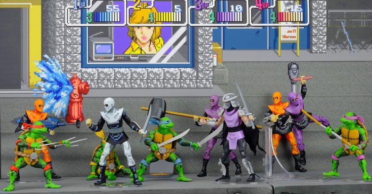 tmnt-arcade-turtles-and-foot-clan-action-figures-sdcc-exclusive-1