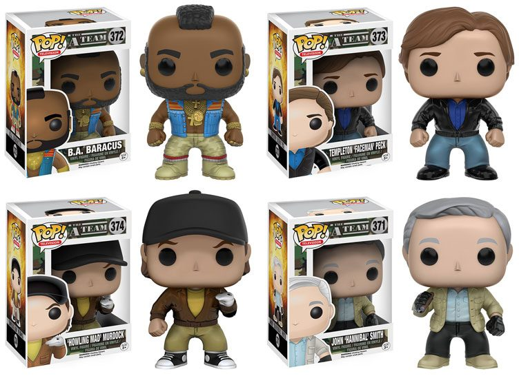 A-Team-Pop-Vinyl-Figures