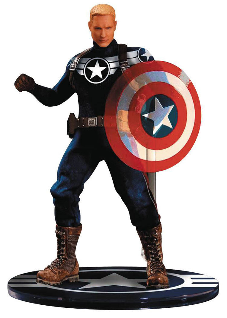 captain-america-commander-rogers-action-figure-mezco-toyz