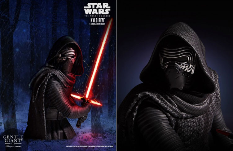 kylo-ren-mini-bust-gentle-giant