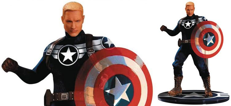 mezco-toyz-captain-america-commander-rogers-action-figure