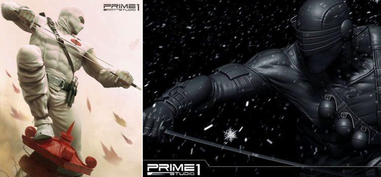 prime-1-studios-snake-eyes-storm-shadow-statues