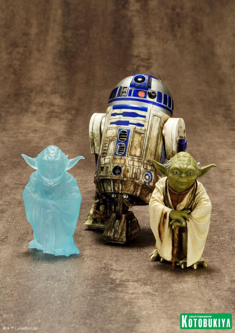 star-wars-yoda-r2-d2-dagobah-statue-pack-kotobukiya-1