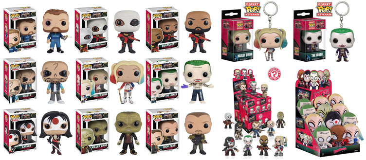 Suicide Squad Pop Vinyl Figures And Other Funko