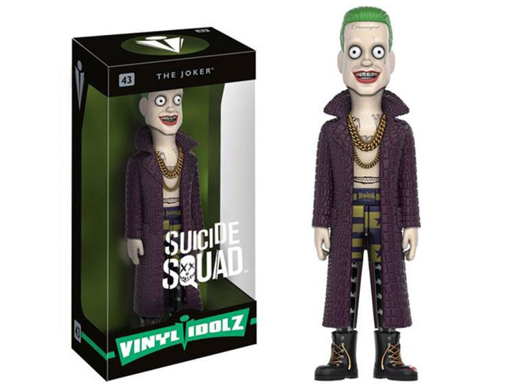Suicide Squad The Joker And Harley Quinn Vinyl Figure Toys