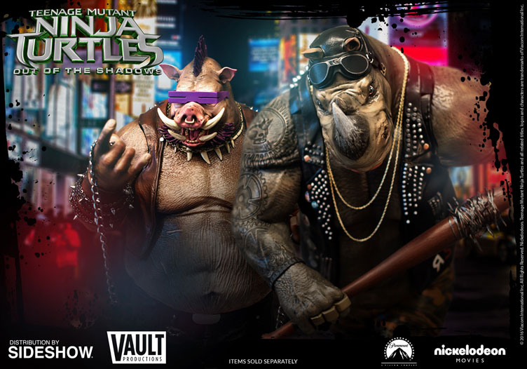 tmnt-out-of-the-shadows-bebop-rocksteady-statues