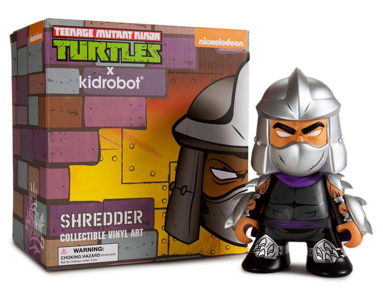 collectible vinyl tmnt shredder vinyl figure by kidrobot actionfiguresdailycom