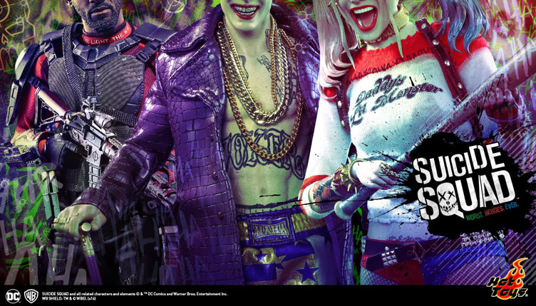 Hot Toys Teases More Suicide Squad Figures Joker Deadshot