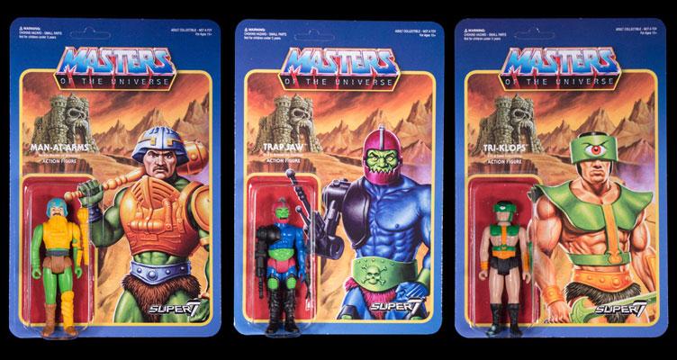Super 7 Rétro Vintage Masters Of The Universe Wave 2 MASTERS OF THE UNIVERSE MAN-AT-ARMS