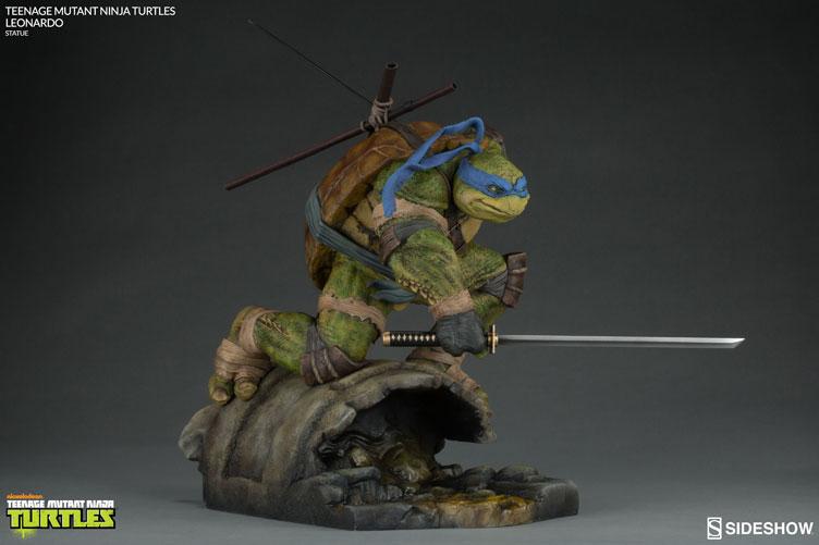 tmnt-leonardo-sideshow-collectibles-statue-11