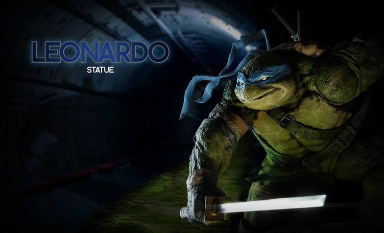 Sideshow TMNT Leo Statue Images and Release Date ...