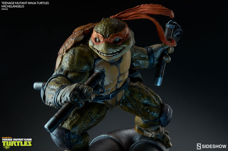 tmnt-michelangelo-statue-sideshow-collectibles-1
