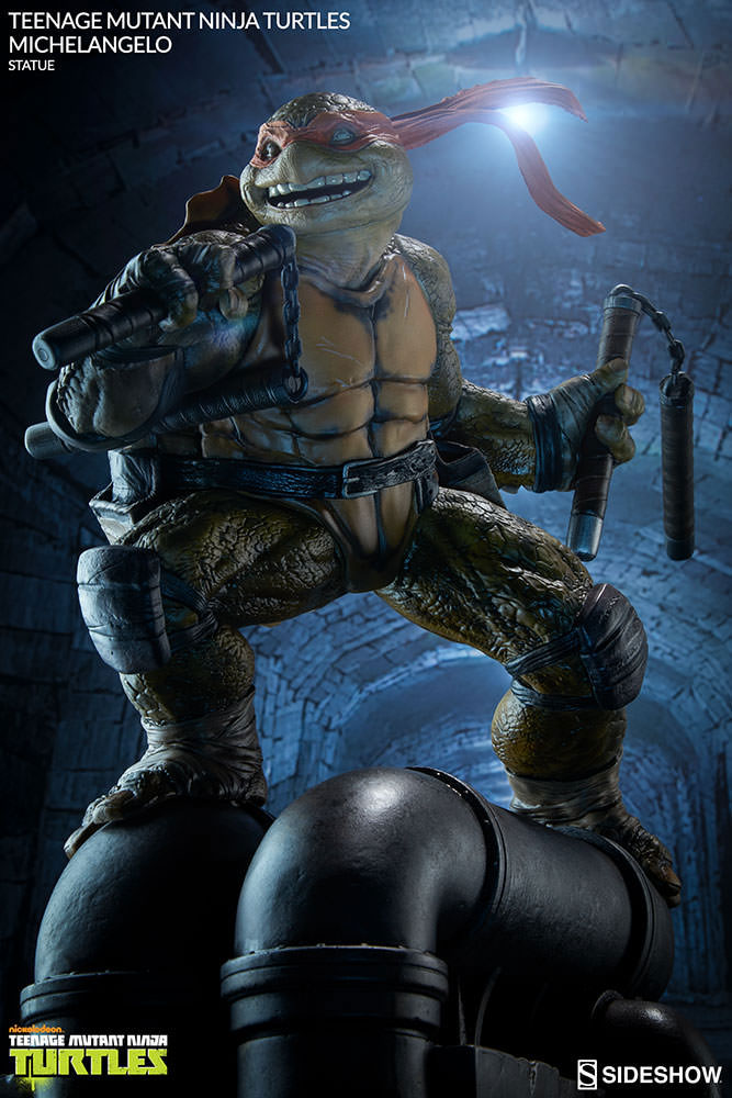 tmnt-michelangelo-statue-sideshow-collectibles-5