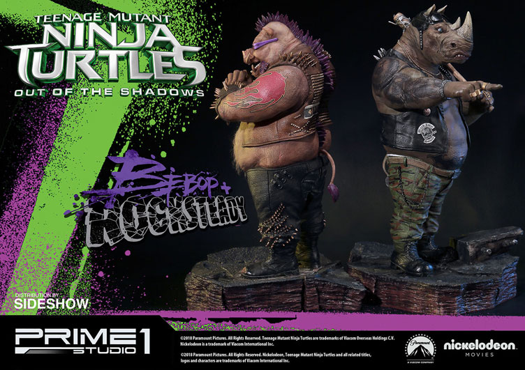 tmnt-out-of-the-shadows-bebop-and-rocksteady-statues-prime-1-studio-2