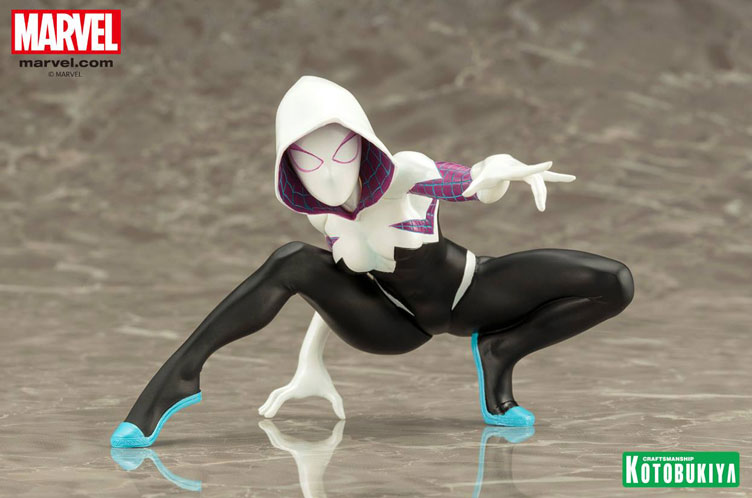 Картинки по запросу Marvel ArtFX+ Statues - 1/10 Scale Spider-Gwen Marvel Now Version