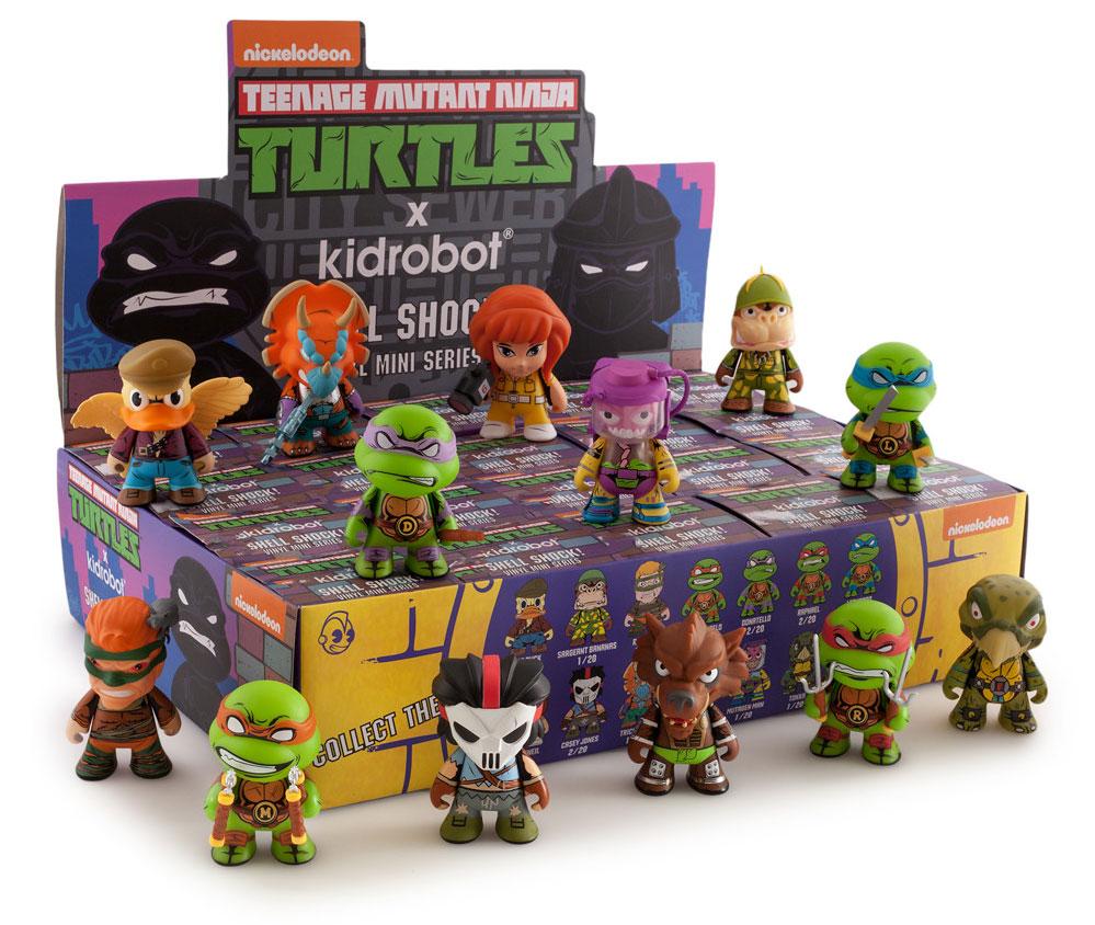 Mini Ninja Toys : Kidrobot tmnt vinyl mini figures actionfiguresdaily
