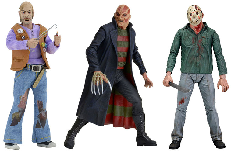 New Neca Horror Action Figures Available Freddy Jason And