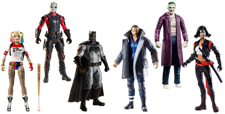 Suicide Squad Dc Multiverse 6 Inch Action Figures Now
