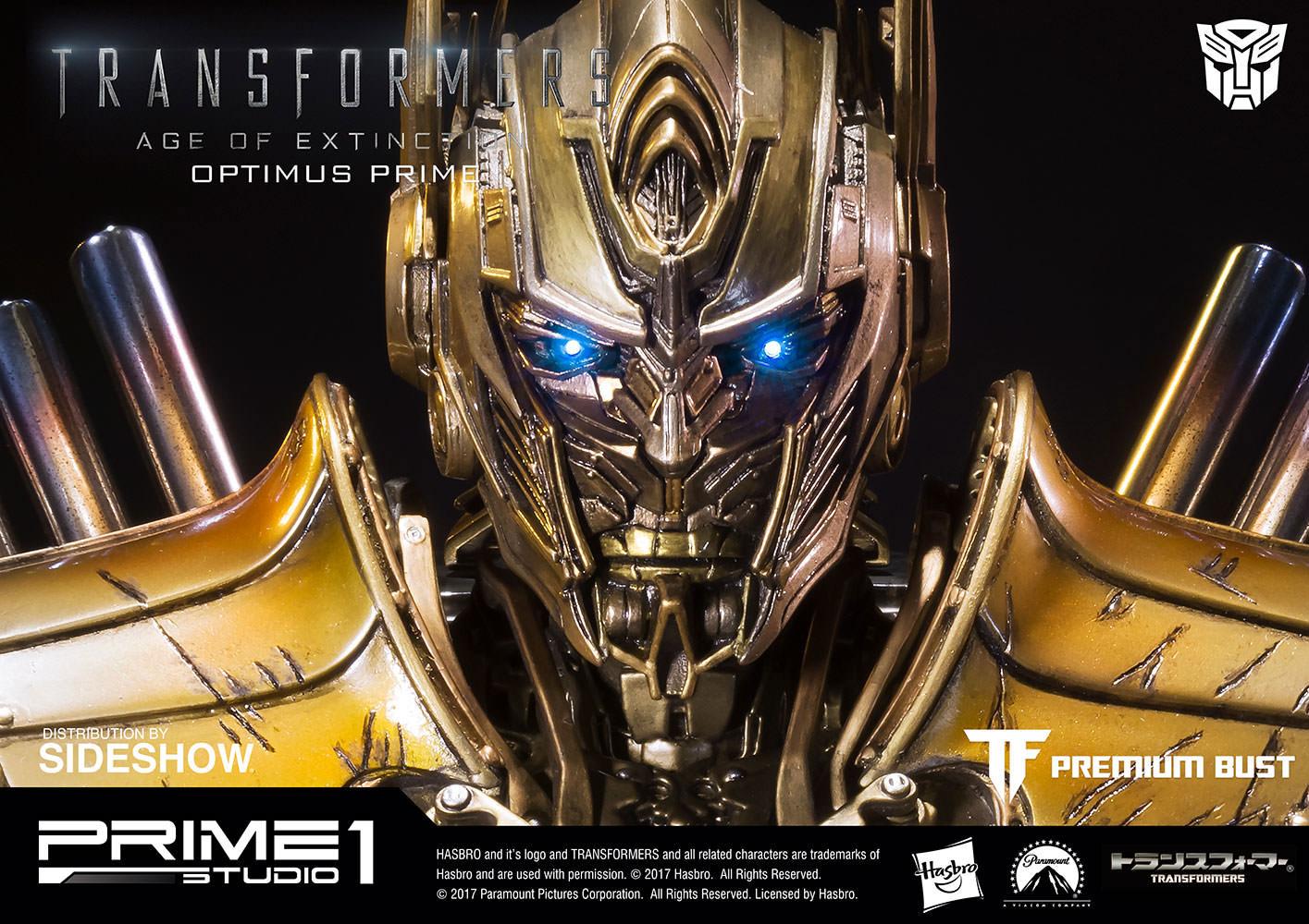 transformers optimus prime gold bustprime 1 studio