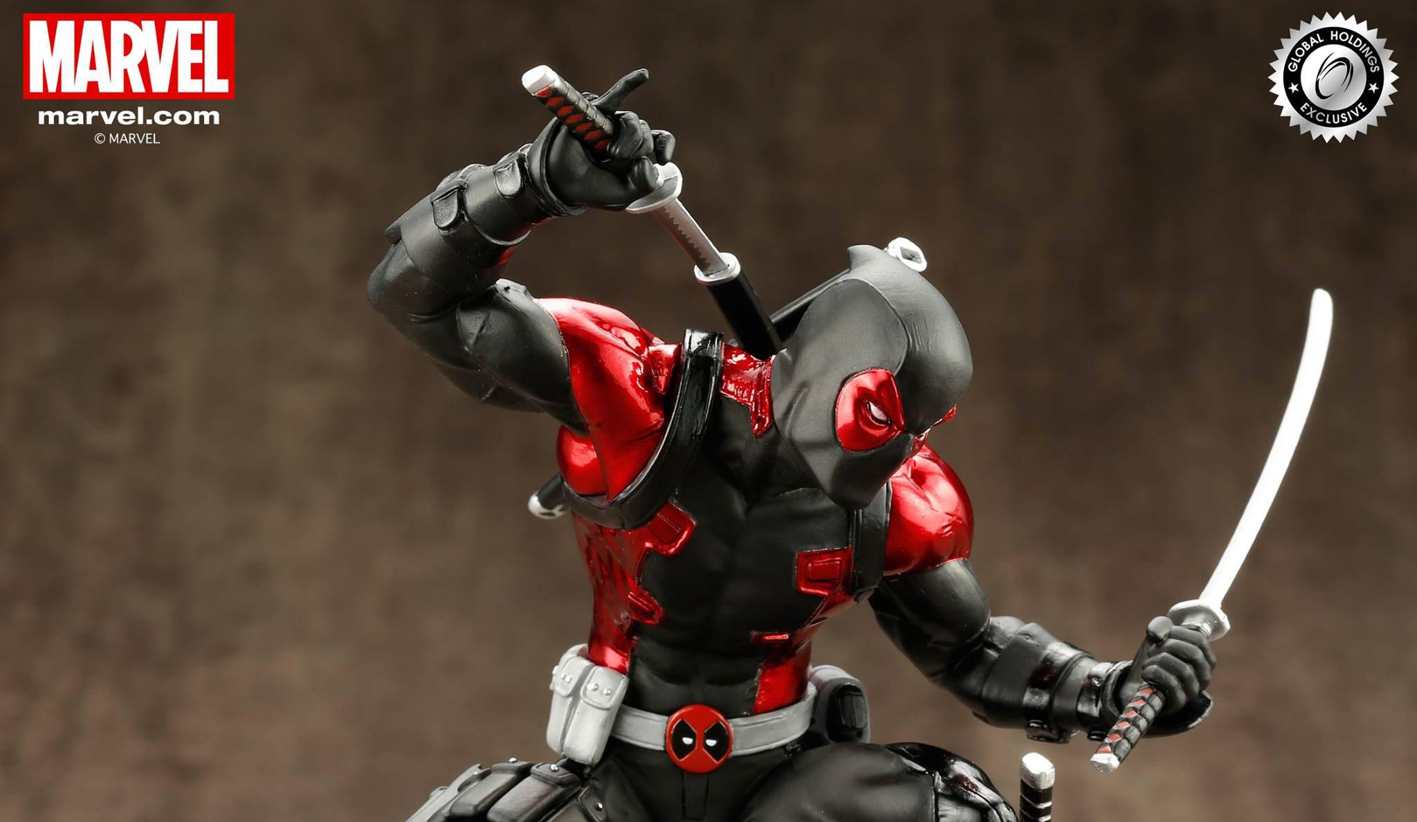 deadpool-kotobukiya-black-suit-statue