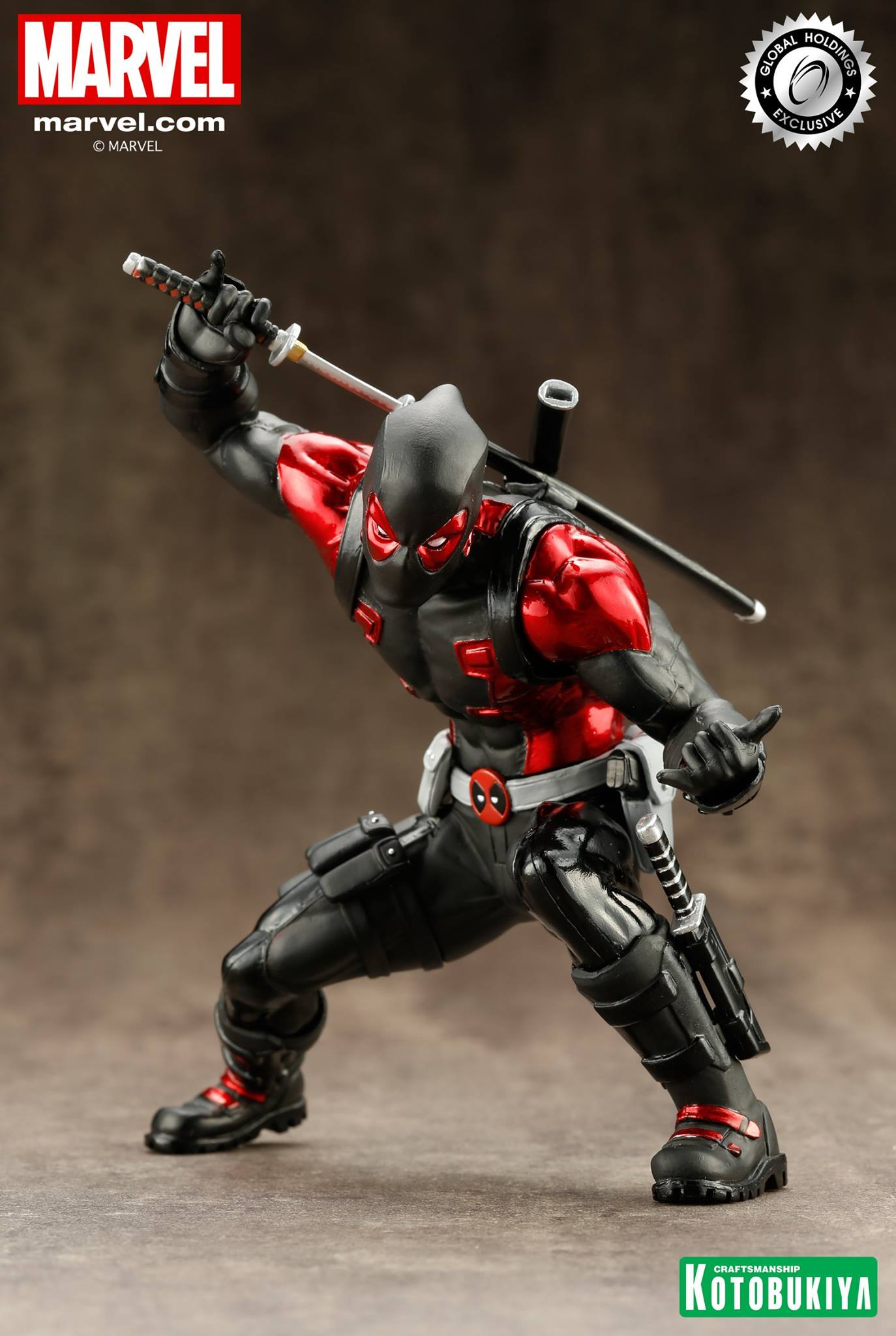 kotobukiya-deadpool-black-suit-artfx-1