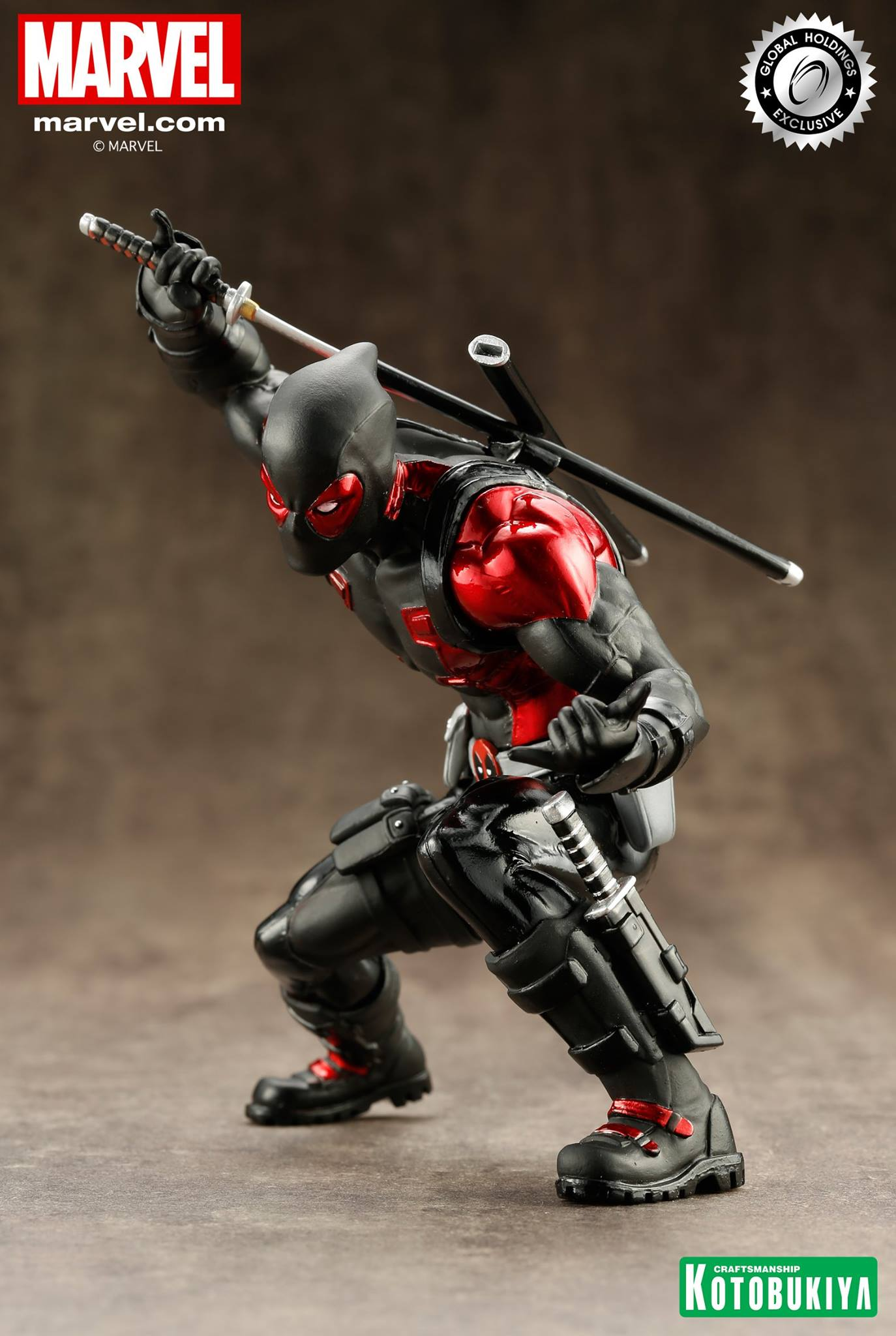 kotobukiya-deadpool-black-suit-artfx-2