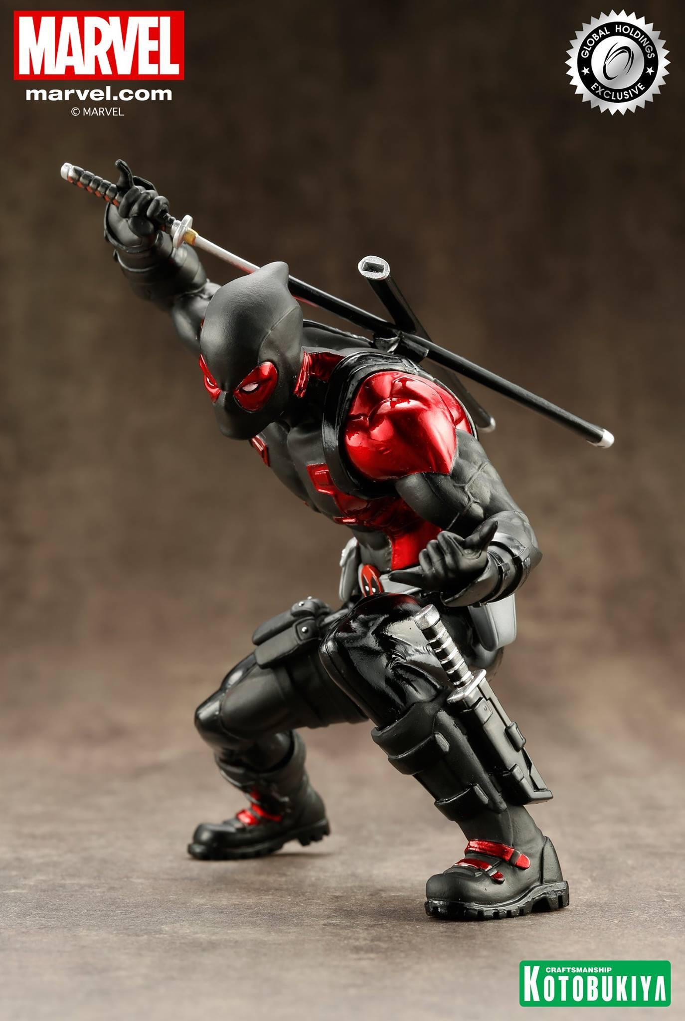 kotobukiya-deadpool-black-suit-artfx-2