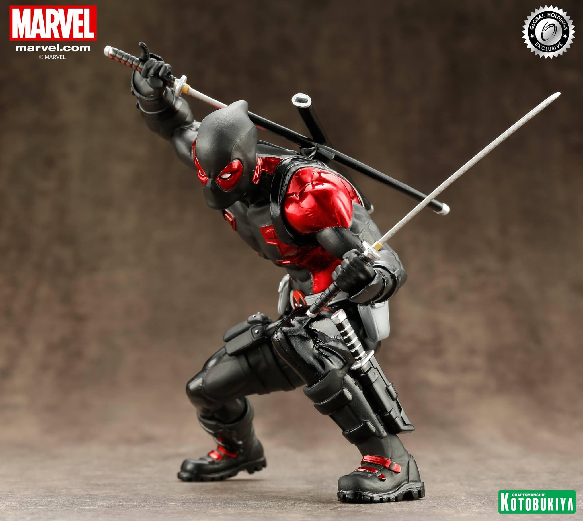 kotobukiya-deadpool-black-suit-artfx-3