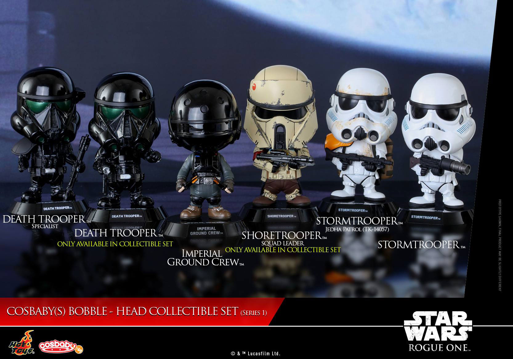 Hot Toys Star Wars Rogue One Cosbaby Figures Series 1