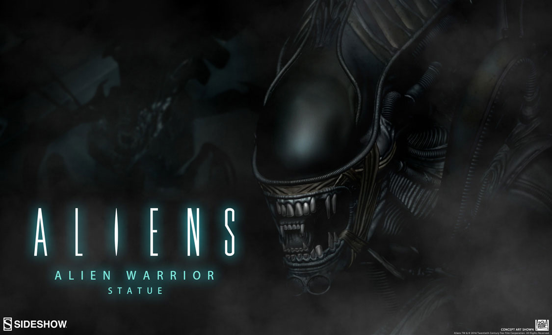 sideshow-alien-warrior-statue-preview