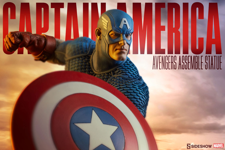 sideshow-captain-america-avengers-assemble-statue-1