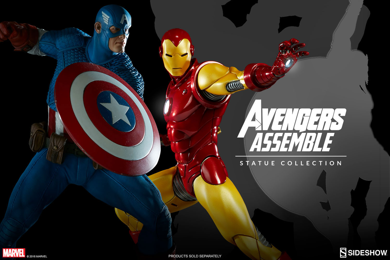 sideshow-captain-america-avengers-assemble-statue-2