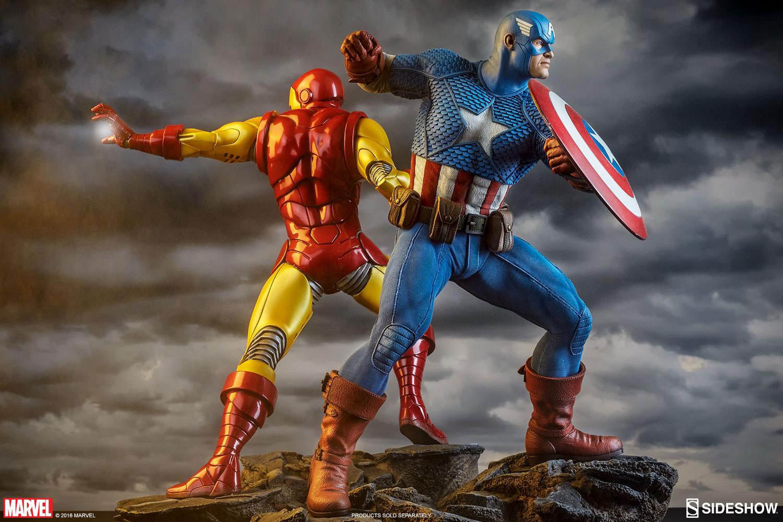 sideshow-captain-america-avengers-assemble-statue-4