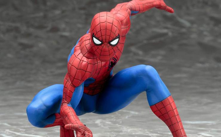 kotobukiya-spider-man-statue
