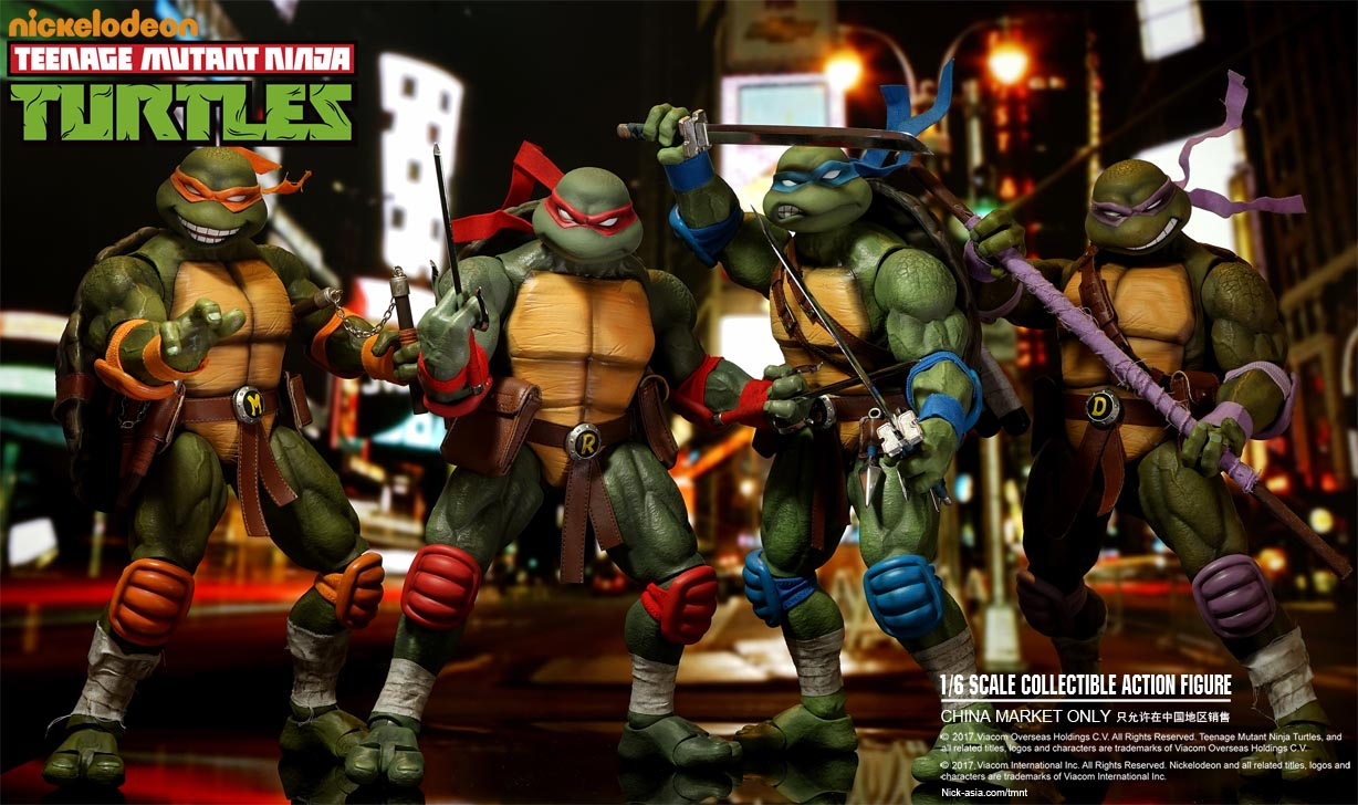 TMNT Figures by DreamEX | ActionFiguresDaily.com