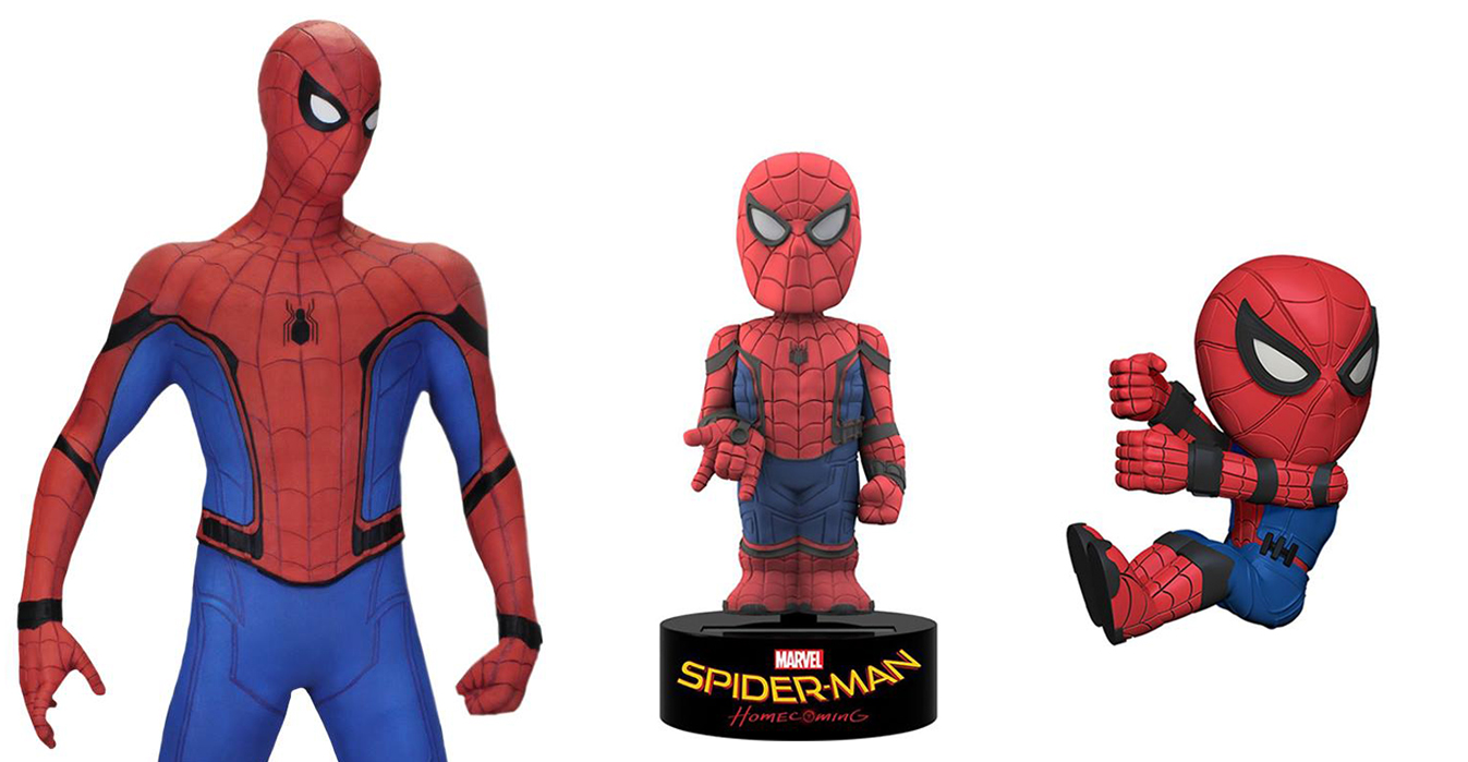 Spider Man Homecoming Toys By Neca Actionfiguresdaily Com