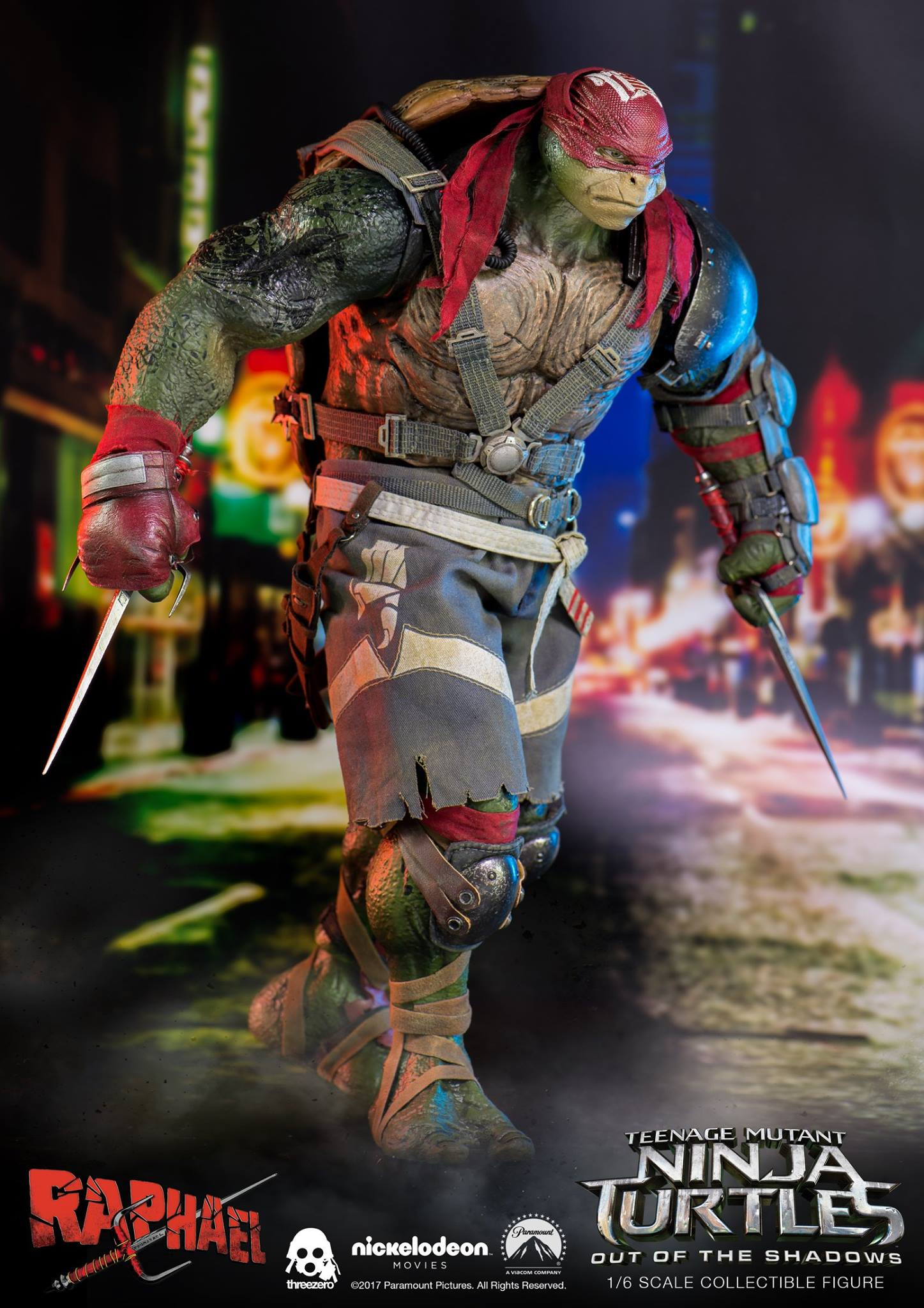 TMNT Raphael and Donatello Figures by ThreeZero ...