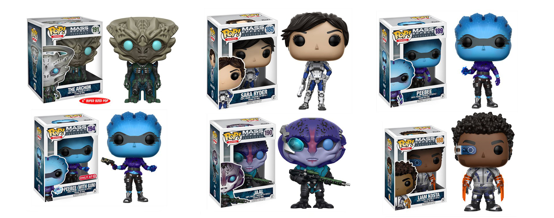 Effect Mass Pops By Andromeda Funko WE2D9IH
