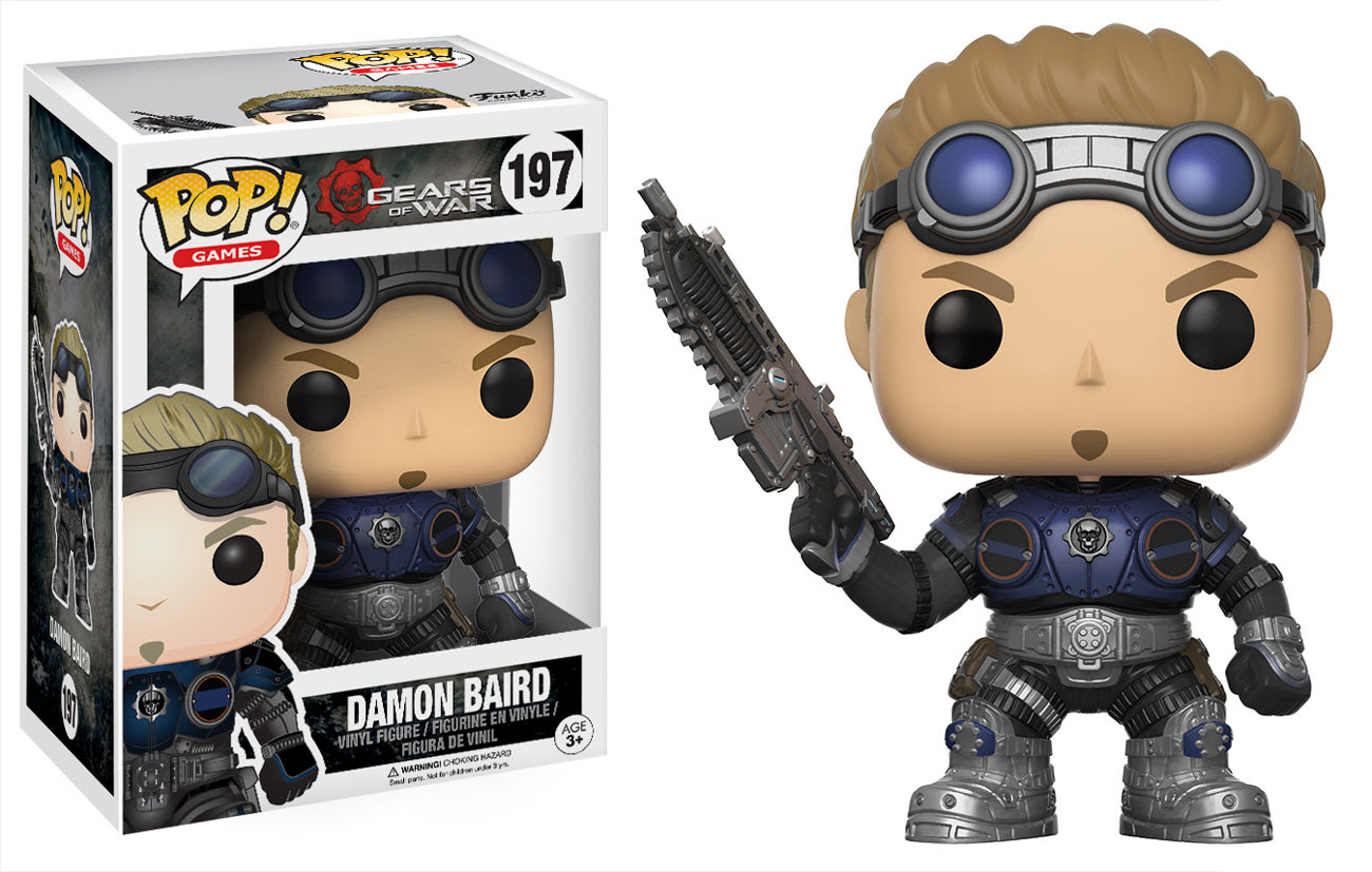 Gears Of War Pop Figures By Funko Actionfiguresdaily Com