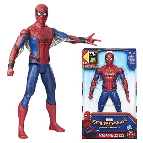 spider man homecoming action figures and toys