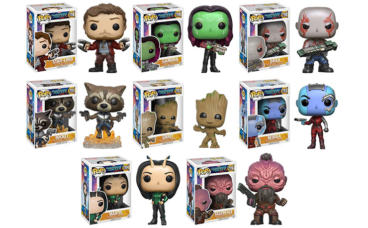 Guardians Of The Galaxy Vol 2 Pop Figures By Funko