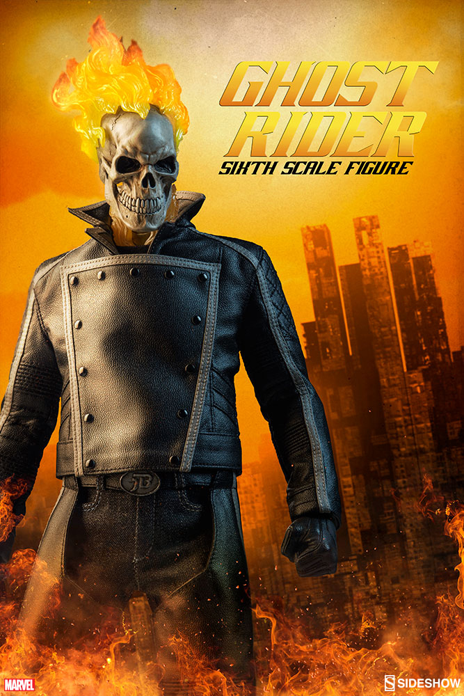 sideshow-marvel-ghost-rider-sixth-scale-figure
