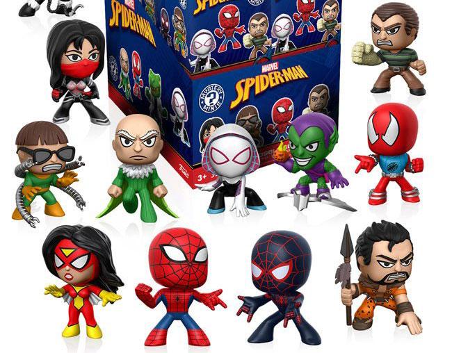spiderman-funko-mystery-mini-figures