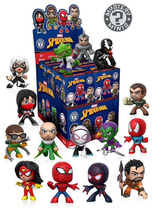 spiderman-funko-mystery-mini-vinyl-figures